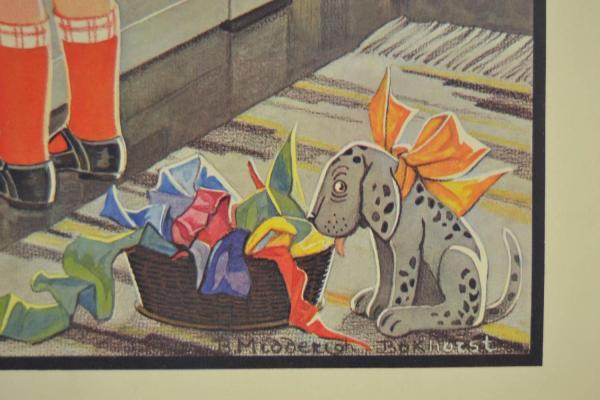 Vintage Educational School Poster 1930s Mirror 1stdibs