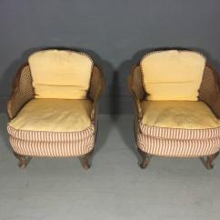 1930 Cane Back Sofa Black Leather With Metal Legs Pair Of Bergere Tub Chairs Walnut And Sweden 1930s