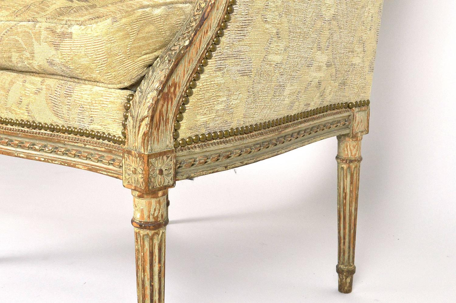 Hooded Chair 19th Century Louis Xvi Style Hooded Butler 39s Chair For