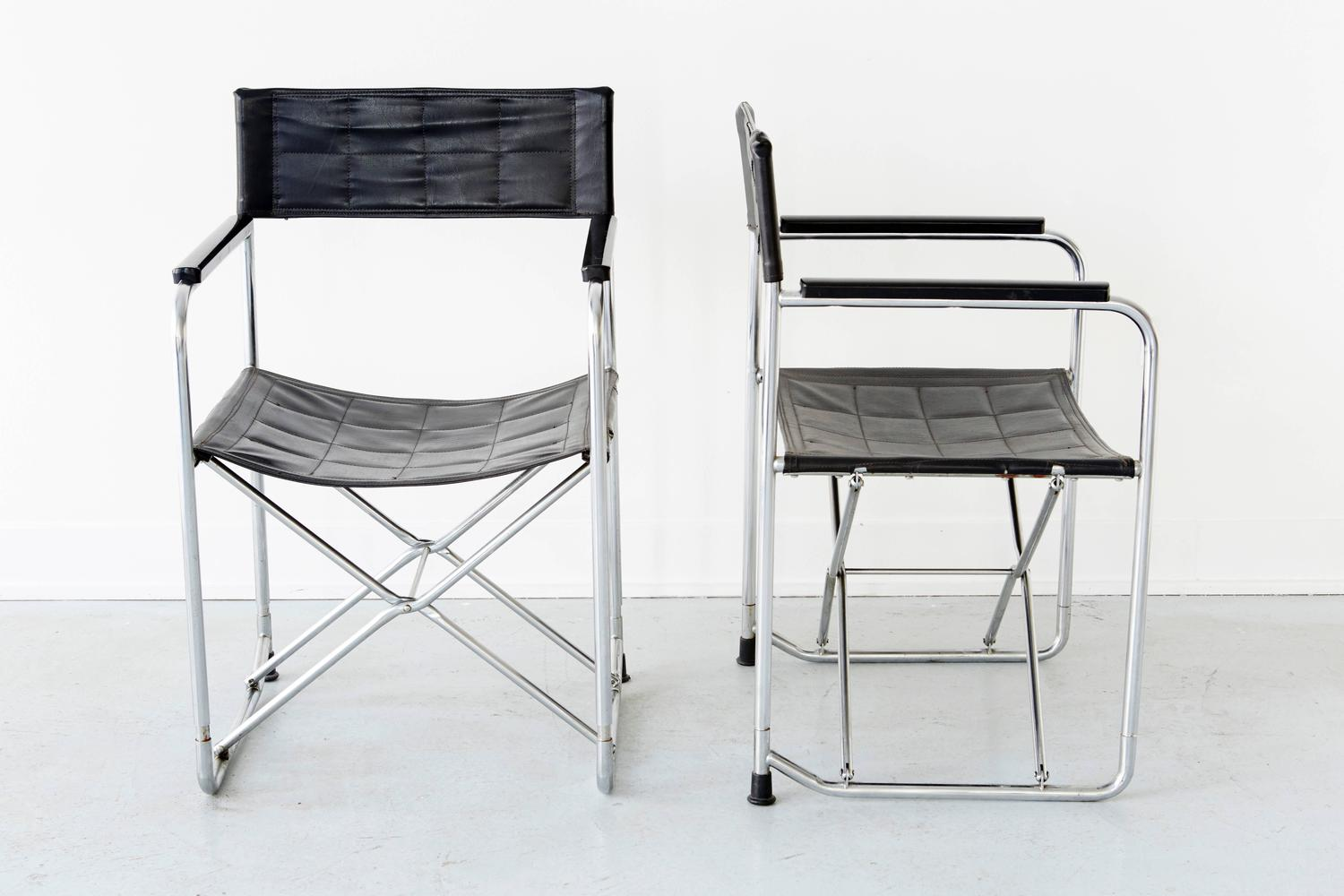 folding japanese chair room essentials sphere pair of uchida midcentury chairs at 1stdibs