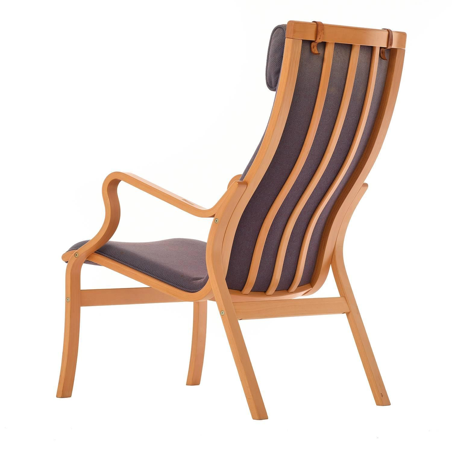 modern bentwood chairs accent chair ottoman danish highback lounge for sale at 1stdibs
