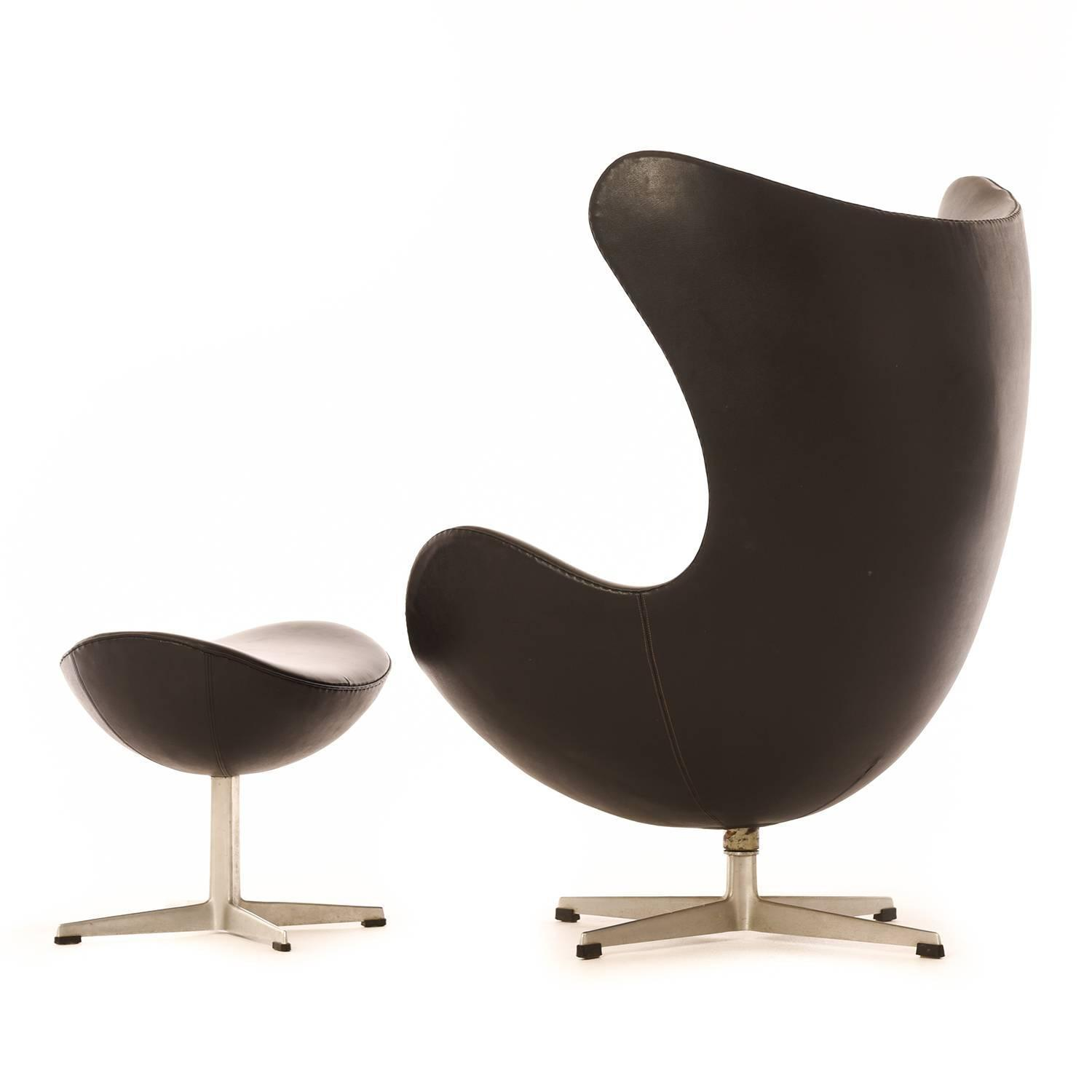 egg chairs for sale unique home office danish modern chair with ottoman at 1stdibs