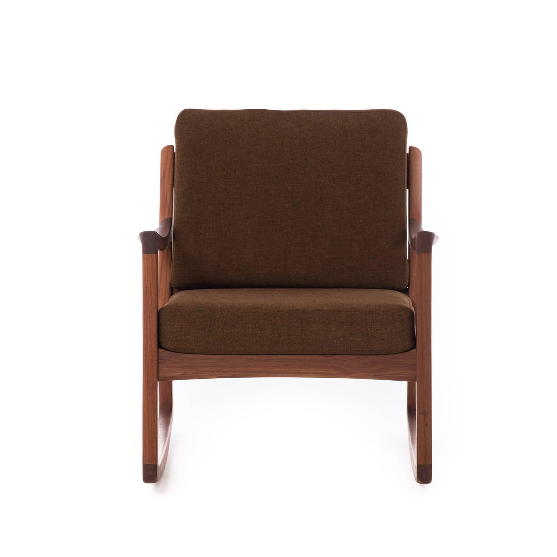 danish modern rocking chair recliner covers uk wanscher for sale at 1stdibs