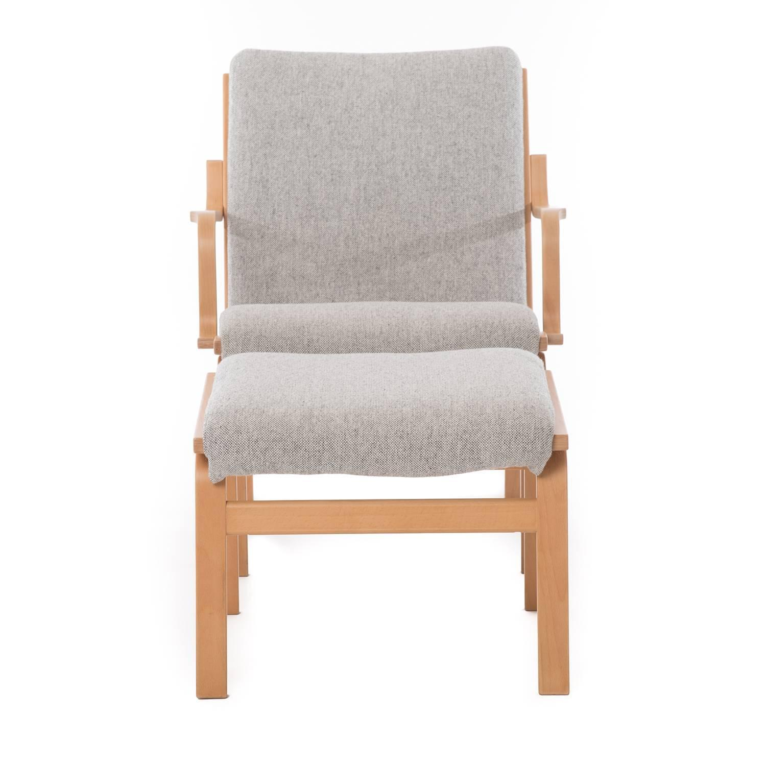 modern bentwood chairs keter baby high chair reviews danish and ottoman for sale at 1stdibs
