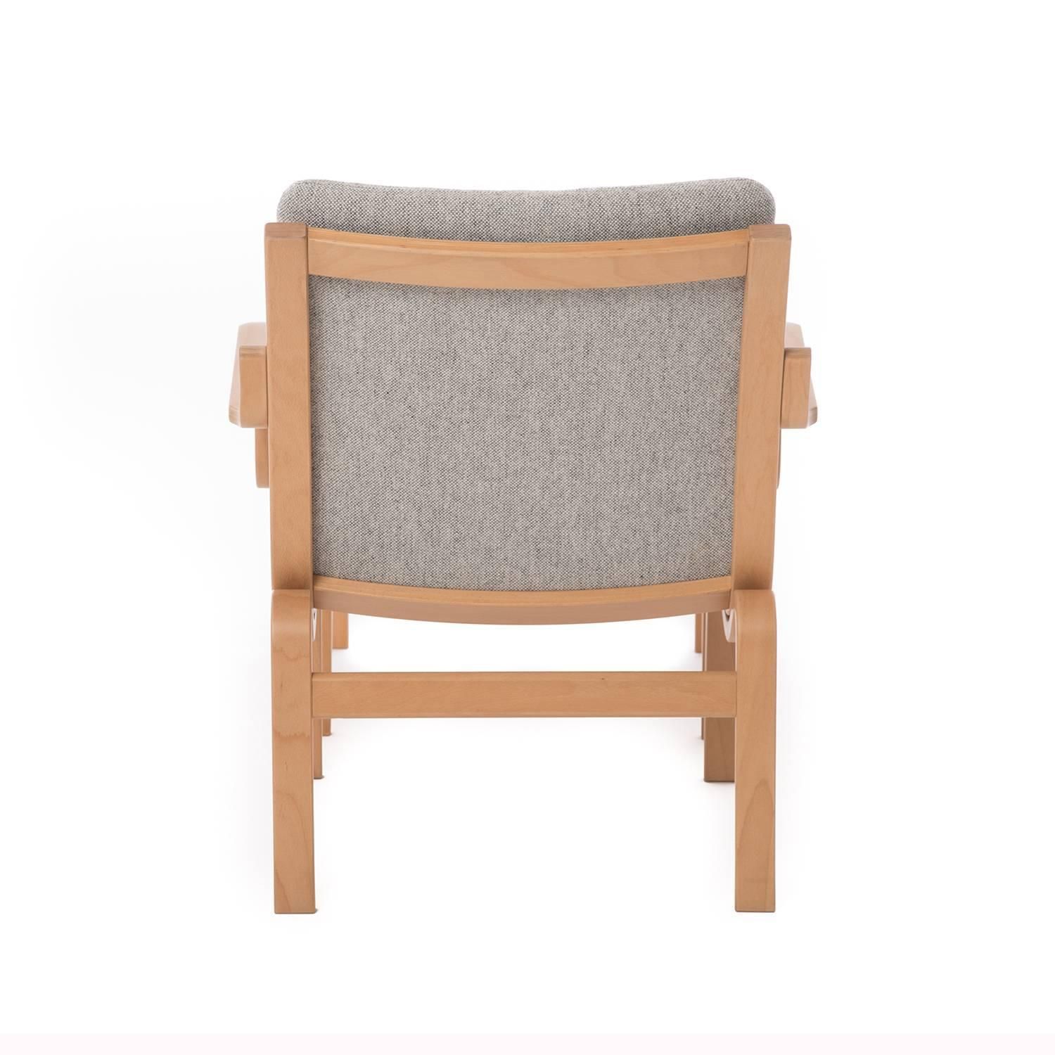 modern bentwood chairs leather tub chair with casters danish and ottoman for sale at 1stdibs