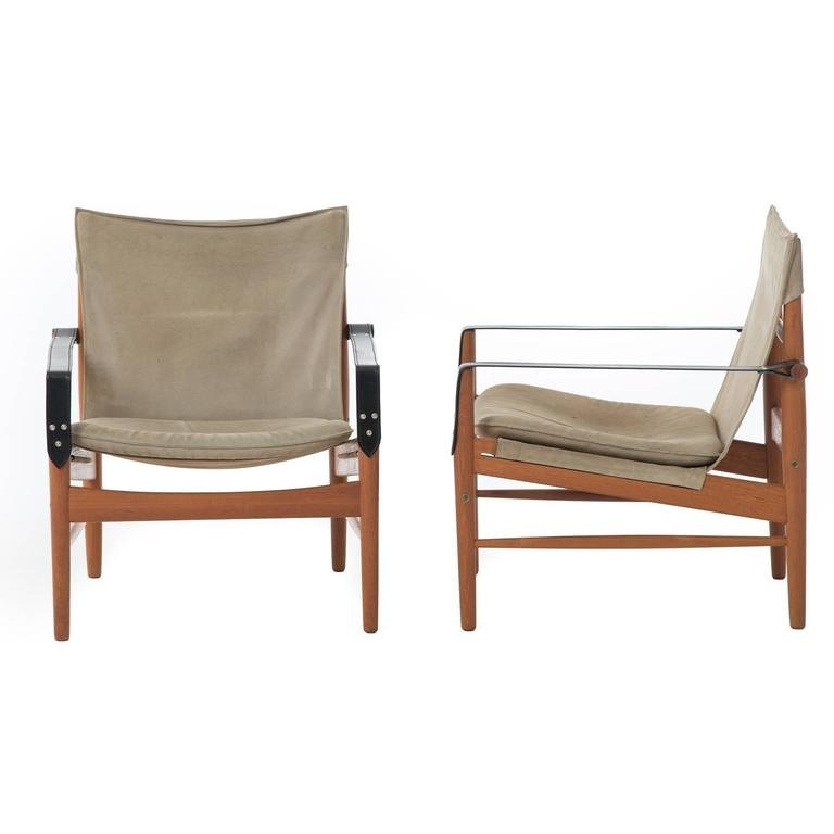 sling chairs for sale dining table and argos teak suede at 1stdibs