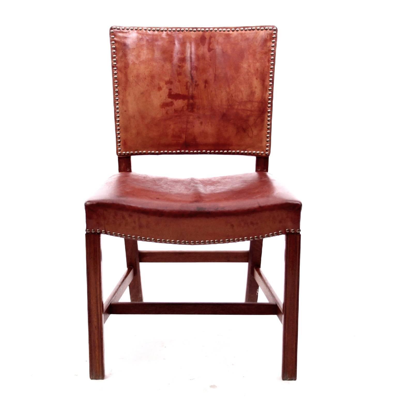 red chairs for sale cat hammock under chair kaare klint scandinavian modern at 1stdibs