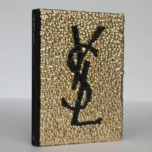 Brass Adorned Yves Saint Laurent Fashion Book Brian