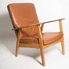 Leather Cigar Chair Stressless Recliner Chairs Reviews Attributed To Hans J Wegner For Sale
