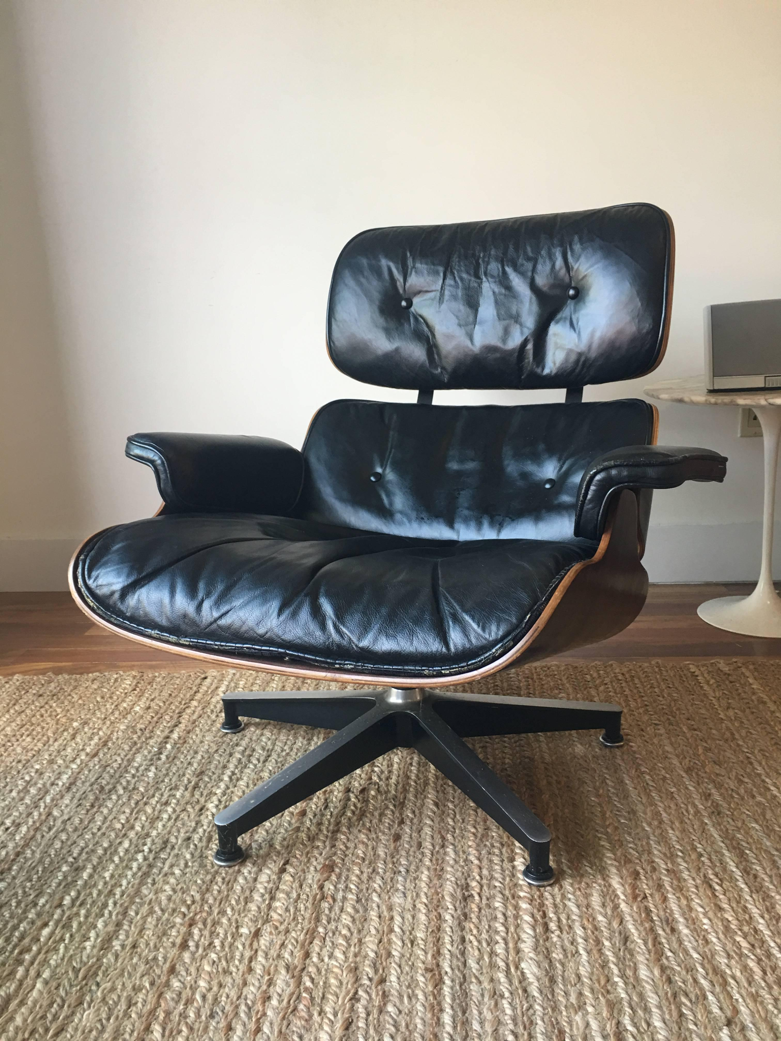 eames chair cushion best yoga ball reviews 1960s herman miller lounge with down cushions at 1stdibs mid century modern for sale