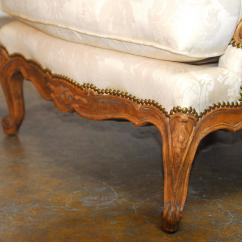 Minton Spidell Chairs Swinging Chair Indoor Pair Of French Walnut Bergeres By At 1stdibs