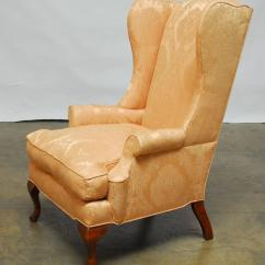 Wingback Chair For Sale Armrest Covers Office Chairs Queen Anne Mahogany Wing At 1stdibs