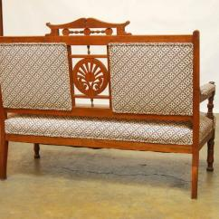 Eastlake Victorian Parlor Chairs Skyline Furniture Chair Settee At 1stdibs