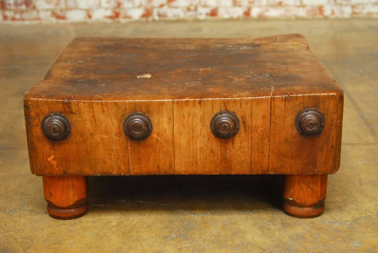 Michigan Maple Woodwelded Tabletop Butcher Block For Sale