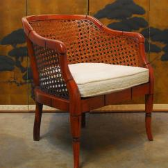 Cane Barrel Chair Wholesale Covers Midcentury Bamboo For Sale At 1stdibs
