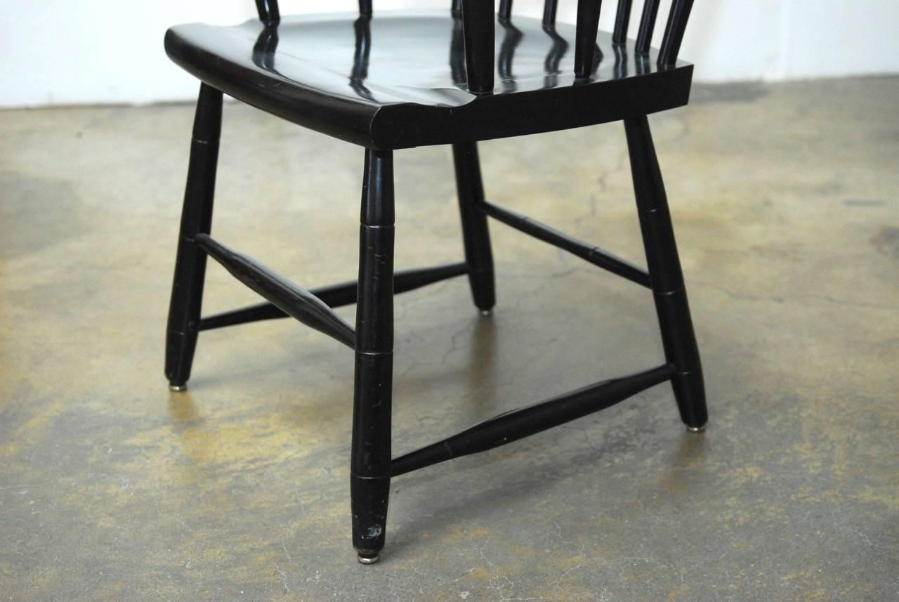 harvard chair for sale cheap covers toronto set of four nichols and stone scholar s chairs at 1stdibs 2