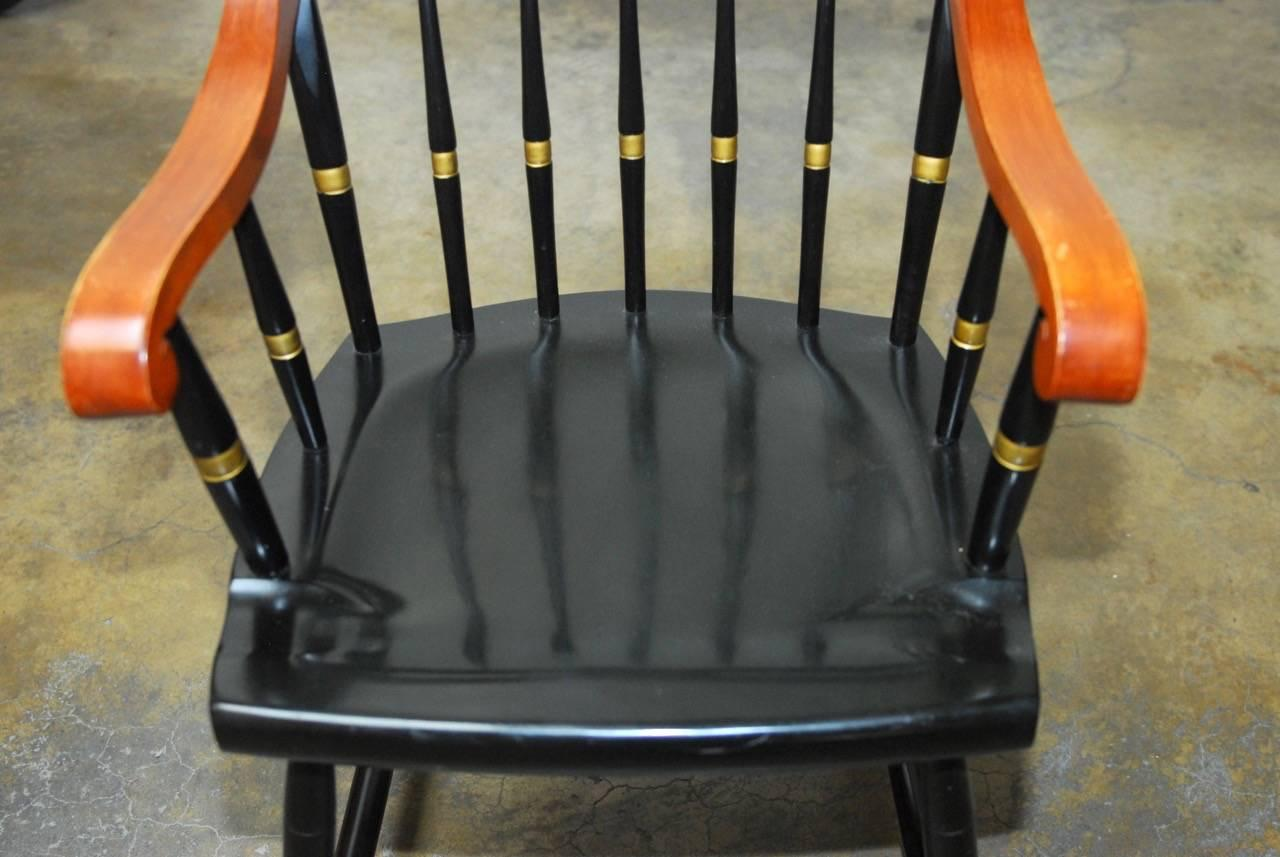 harvard chair for sale best kneeling set of four nichols and stone scholar s chairs at 1stdibs 20th century