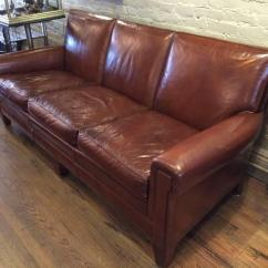 Sikes Chair Company Childrens Antique Rocking Chairs 1940s Stately Leather Club Sofa By The Furniture Co