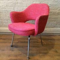 Eero Saarinen for Knoll Executive Armchair with Chrome ...