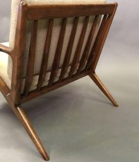 Mid-Century Modern Z Chair by Poul Jensen for Selig For ...