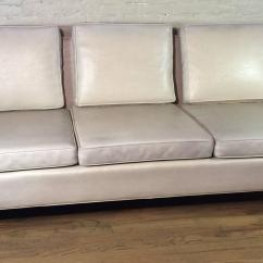 Vinyl Sectional Sofa Innovation Unfurl Bed Mid Century Modern By Milo Baughman For Thayer