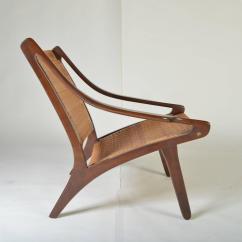 Cane Easy Chair Wedding Covers Northampton Early Ib Kofod Larsen Walnut And For Sale