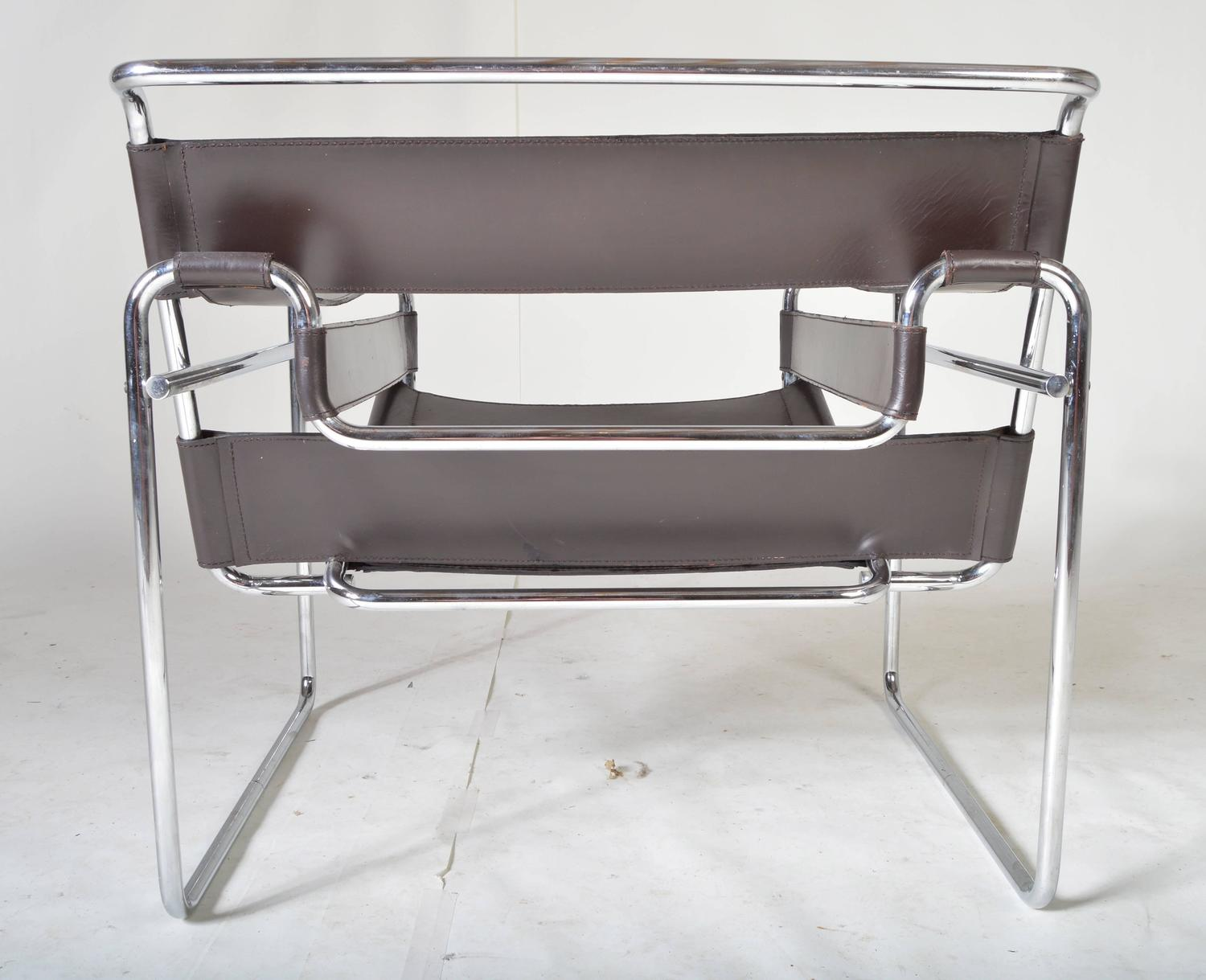breuer chairs for sale wheelchair battery vintage 1960s wassily chair by marcel gavina