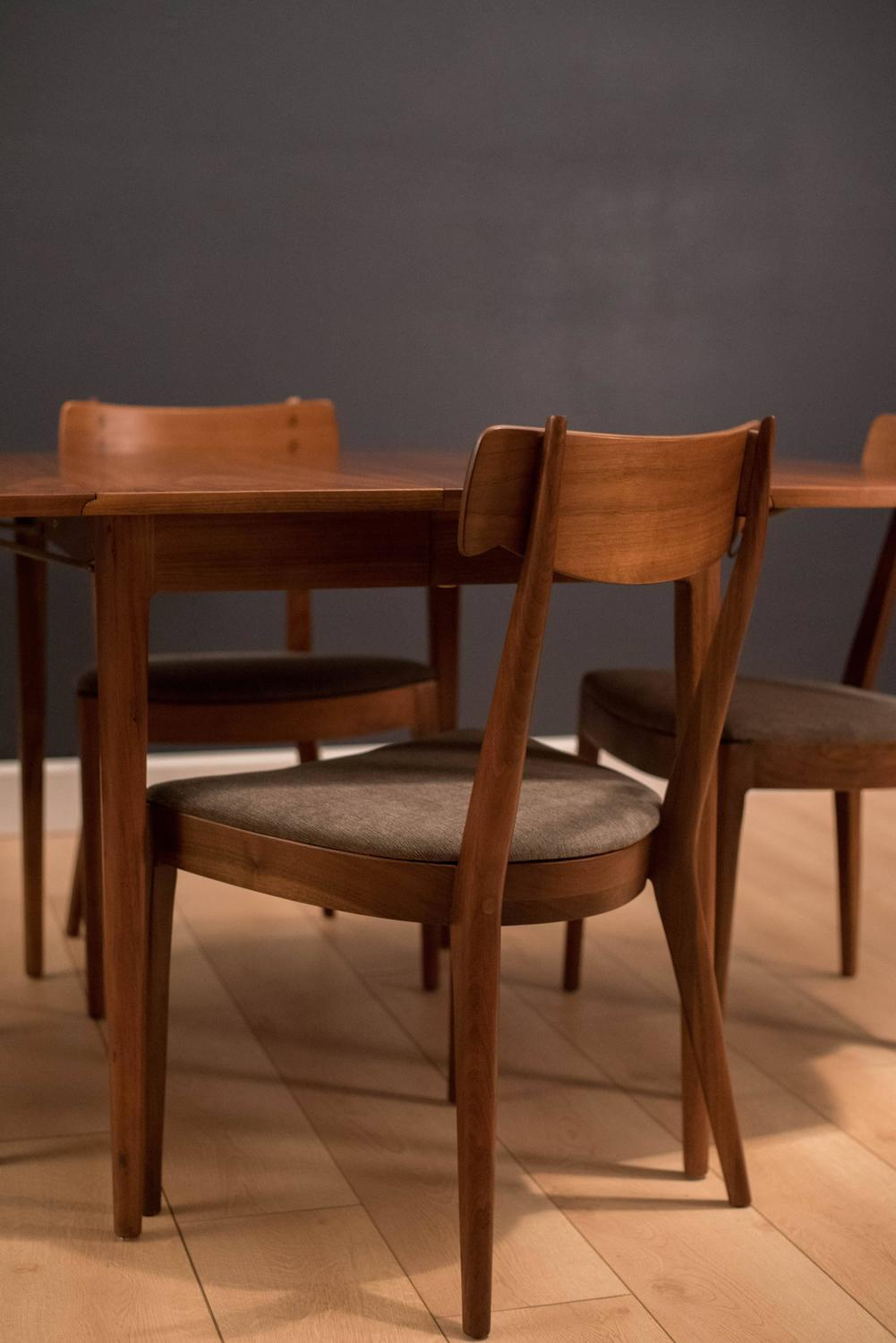 four chair dining set tables and rental drexel declaration by kipp stewart mcdougall at 1stdibs