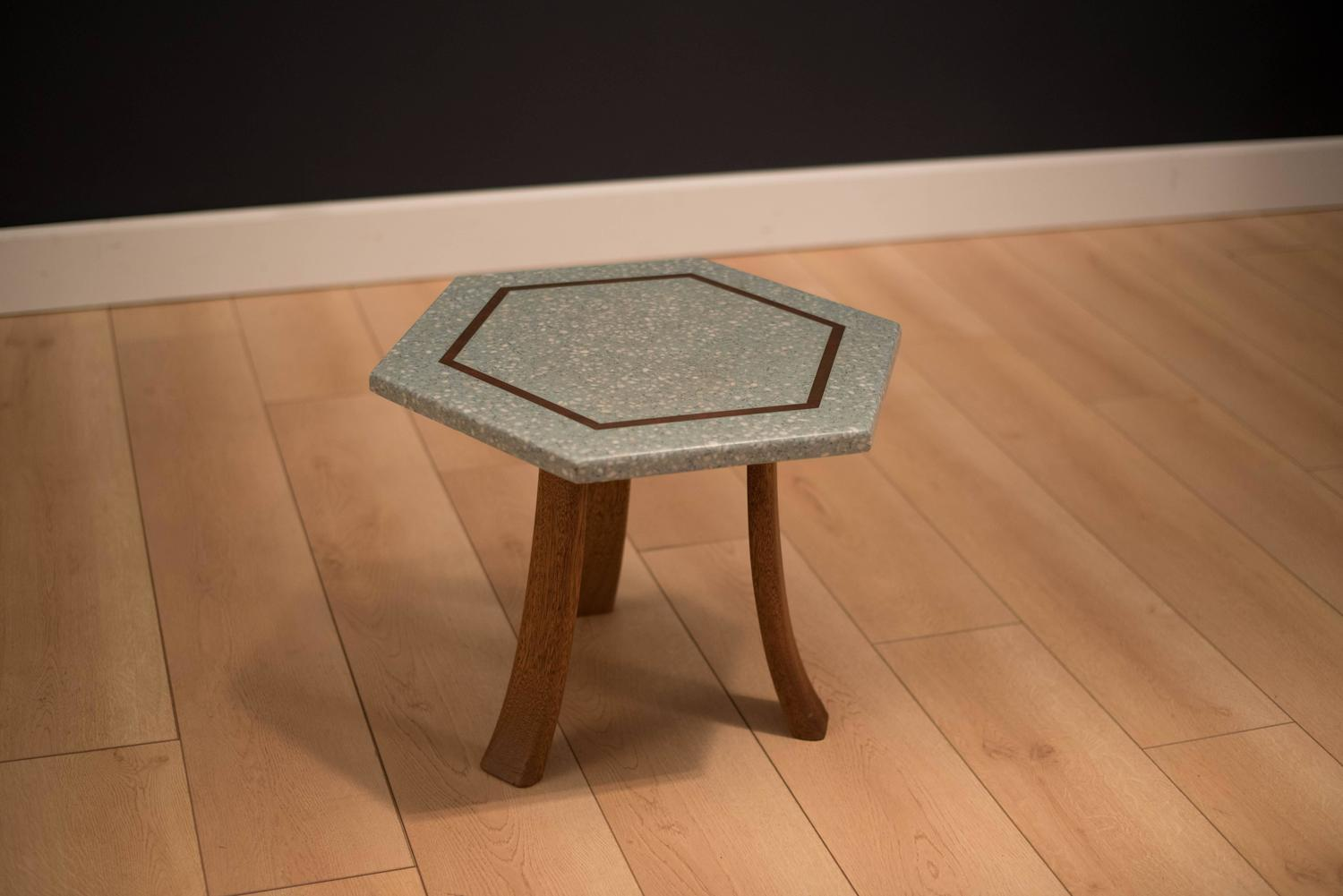 Vintage Harvey Probber Terrazzo Side Table For Sale At 1stdibs
