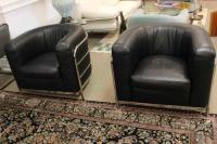 Zanotta 1980s Three-Piece Living Room Suite, Pair of ...