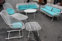 Six Piece Set of Sculpture Patio Furniture by Woodard at ...