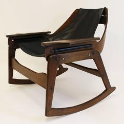 Midcentury Rocking Chair Folding Hong Kong Mid Century Bentwood By Jerry Johnson For