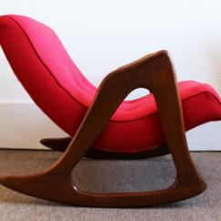 Adrian Pearsall Rocking Chair Covers London Style Sculptural Walnut Rocker Lounge