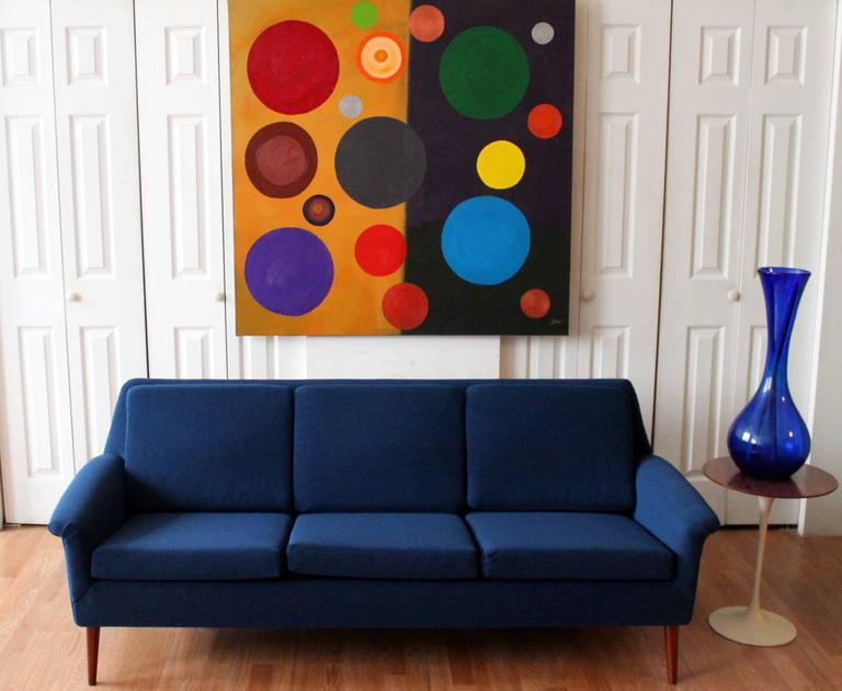 dux sofa by folke ohlsson klaussner drew sectional reviews mid-century modern three seat at ...