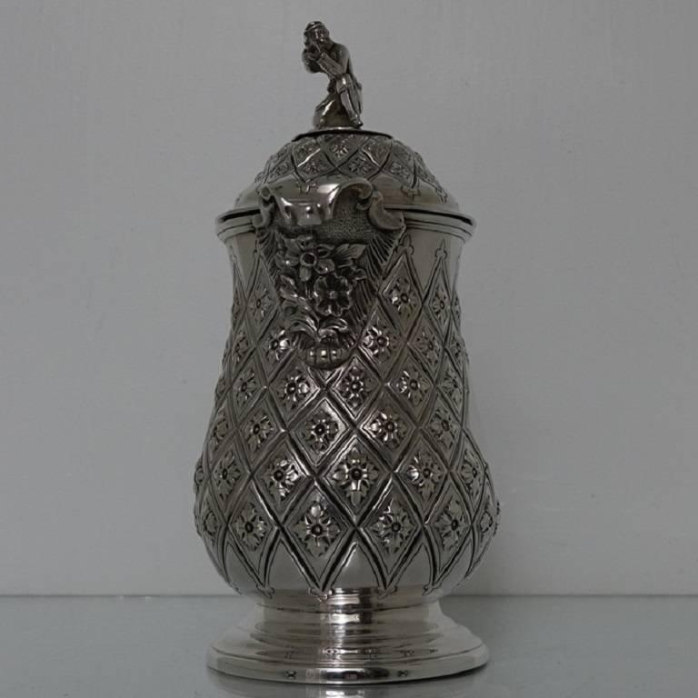 19th century antique silver plated