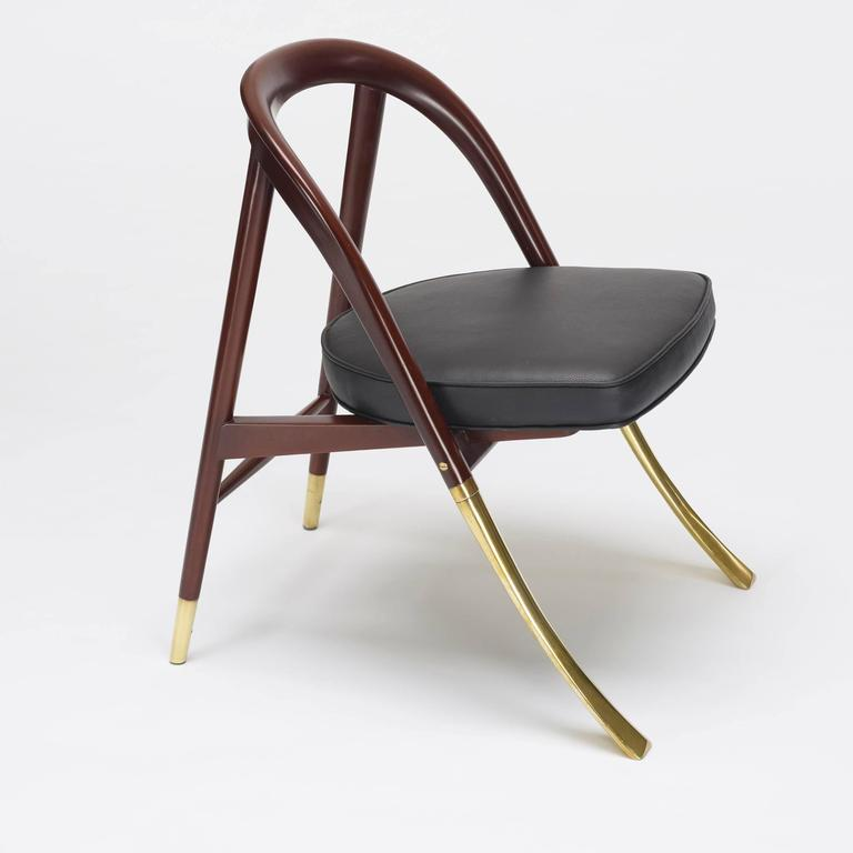 chair design model narrow high 5481 a by edward wormley for sale at 1stdibs american modern
