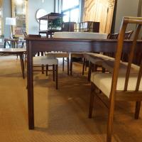 Mid-Century Modern Mahagony Wood Dining and Conference ...