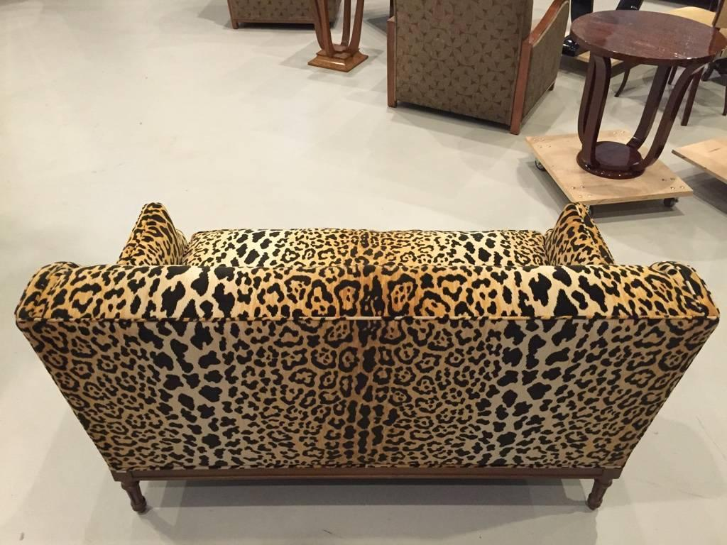 zebra print chairs for sale oversized swivel accent chair mid century leopard sofa at 1stdibs