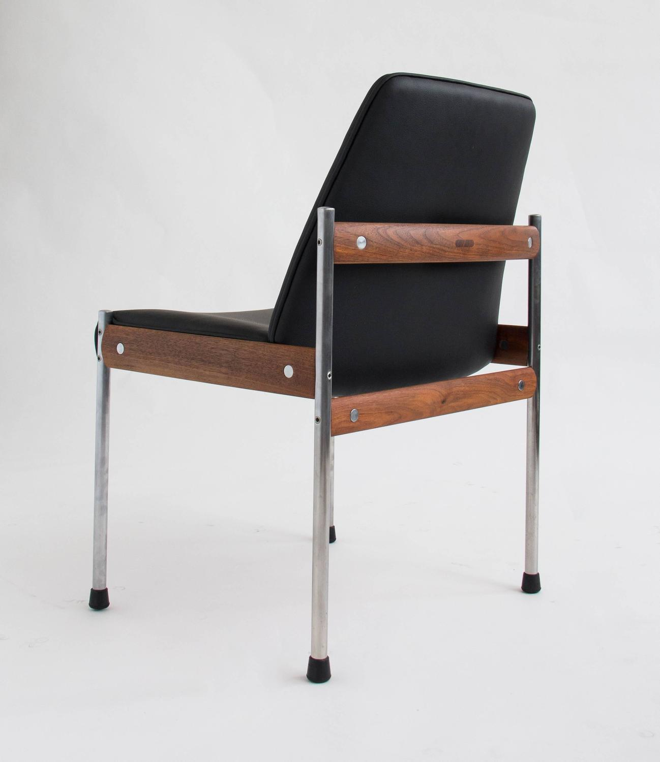 conference chairs for sale staples osgood chair warranty set of six teak and leather dining by