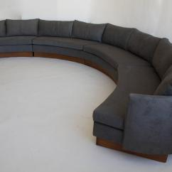 Custom Sectional Sofa Rent A For Month Semi-circular By Carson's Of North ...