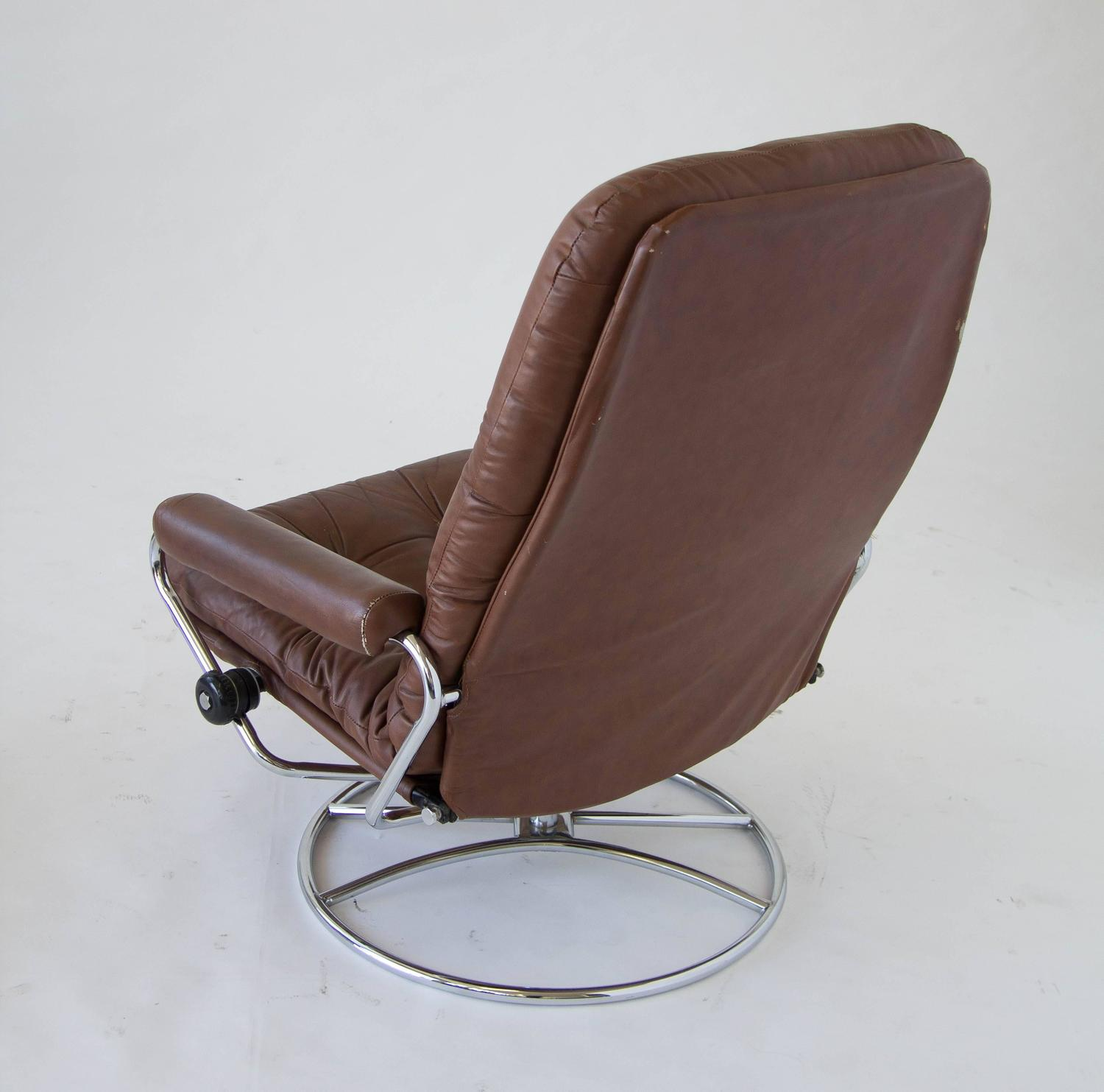 stressless chair sale folding lawn chairs ekornes and ottoman for at 1stdibs