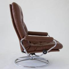 Stressless Chair Sizes Tell City Chairs 4526 Ekornes And Ottoman For Sale At 1stdibs