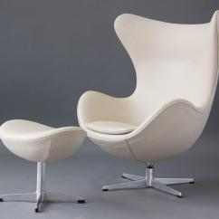Egg Chairs For Sale When To Put Baby In Sit Me Up Chair With Ottoman By Arne Jacobsen At 1stdibs