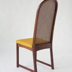 Cane Dining Chairs For Sale Zero Gravity Chair Big Lots Set Of Six High Backed By Milo Baughman