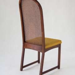Cane Dining Chairs For Sale Fan Back Wicker Chair Set Of Six High Backed By Milo Baughman