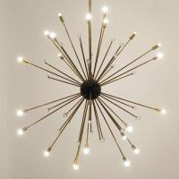 Sputnik Chandelier in the Style of Italian Stilnovo at 1stdibs