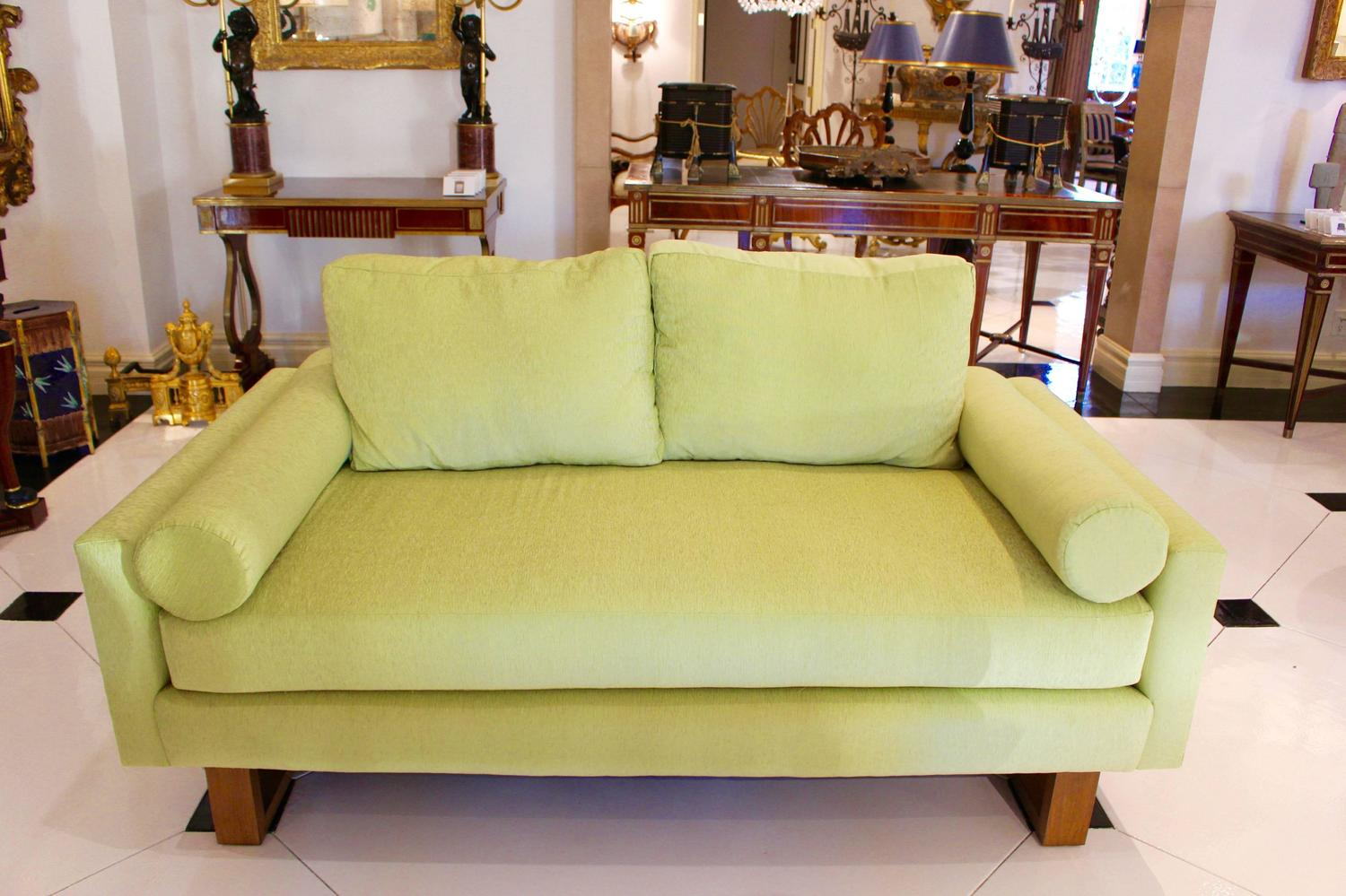 lime green chairs for sale leather mid century sofa at 1stdibs