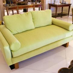 Lime Green Chairs For Sale Cream Upholstered Chair Mid Century Sofa At 1stdibs