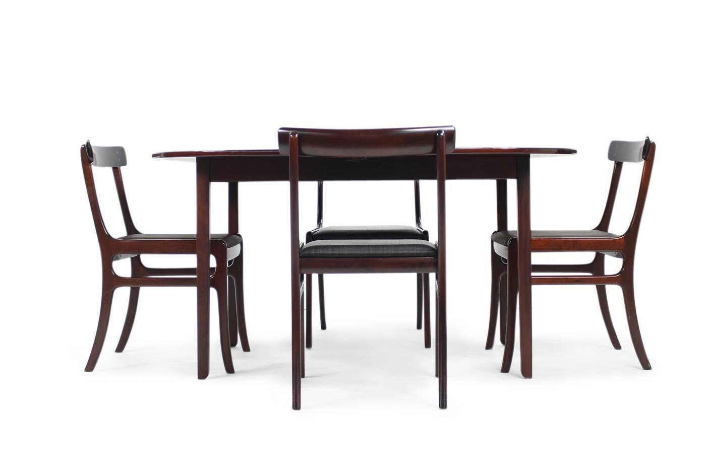 10 chair dining table set ergonomic operator 1960s ole wanscher pj room quotrungstedlund quot