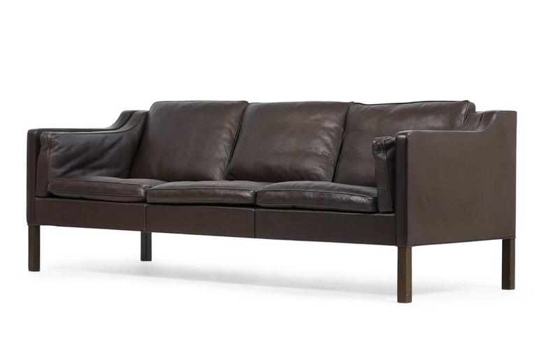 ikea sater sofa uk novak elegant lounger with pull out trundle brown 1960s borge mogensen leather mod 2213 danish modern beautiful very high quality fantastic